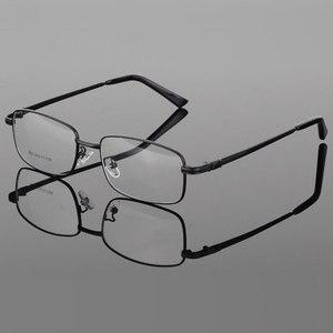 Image 2 - Reven Jate 処方合金光学眼鏡フレーム 4 オプション色眼鏡送料アセンブリと処方レンズ