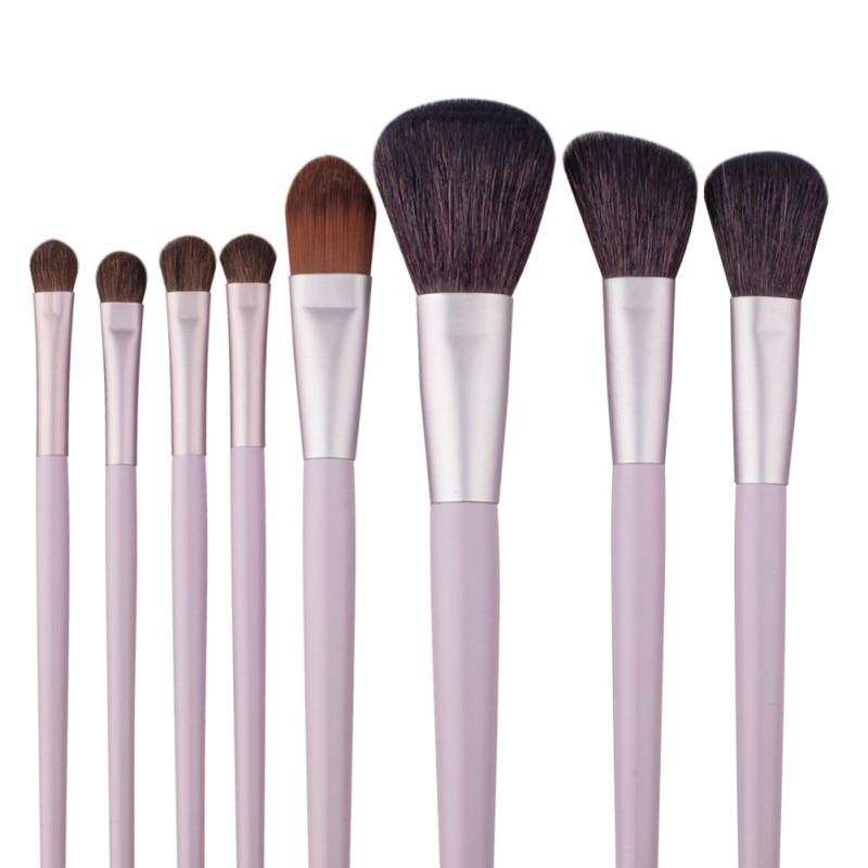 21pcs/set Pink Professional Beauty Make Up Eyebrow Foundation Brushes Set Powder Cosmetic Brushes Tool in color yf 115 professional make up brushes pink silver 10 pcs
