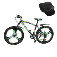 New Arrival Paragraph Mountain Bike 21 Speeds 26 Aluminum Alloy Folding Variable Speed Cycling Double Vibration