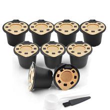 Reutilizables Cápsulas Nespresso 3 Pack Vainas Recargables OriginalLine Fliter Para Máquinas Nespresso Compatibles Envío Para Cuchara