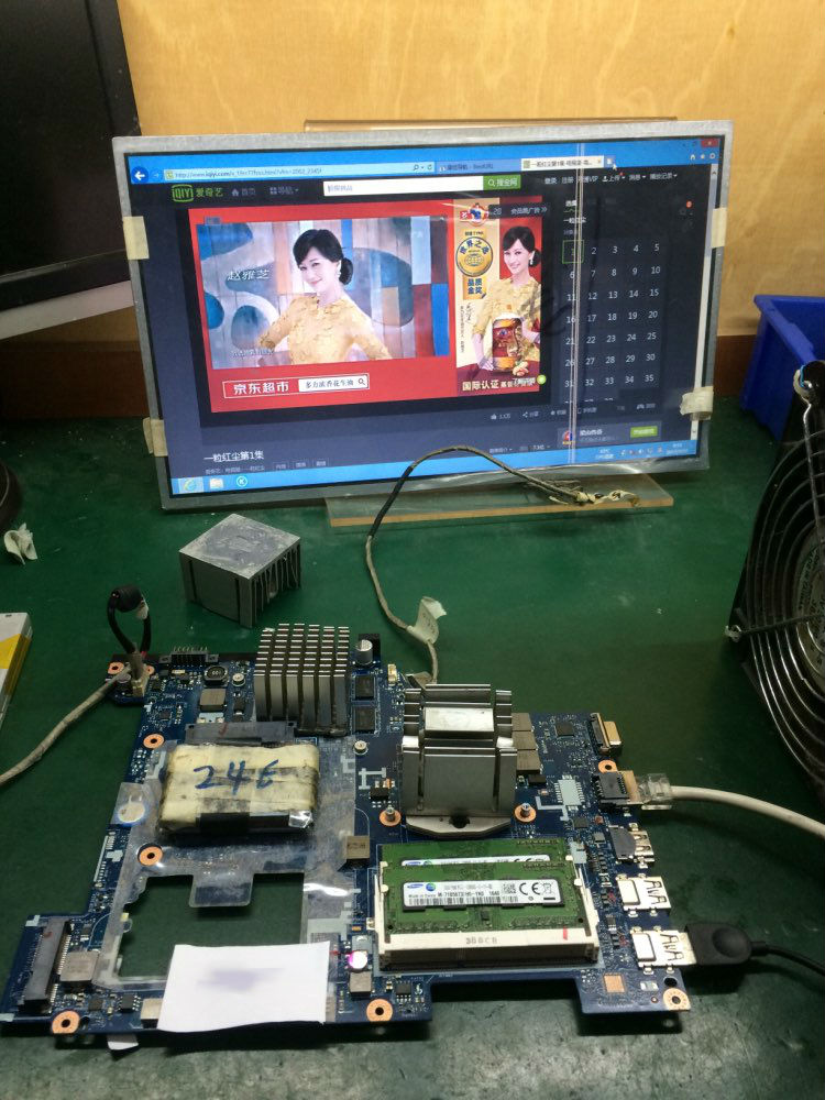 Brand New QIWG6 LA-7988P Laptop Motherboard for Lenovo G580 mainboard FRU:90002355 with Nvidia 710M video card da0lz1mb6e0 for lenovo ideapad z380 laptop motherboard with nvidia geforce gt610m video card