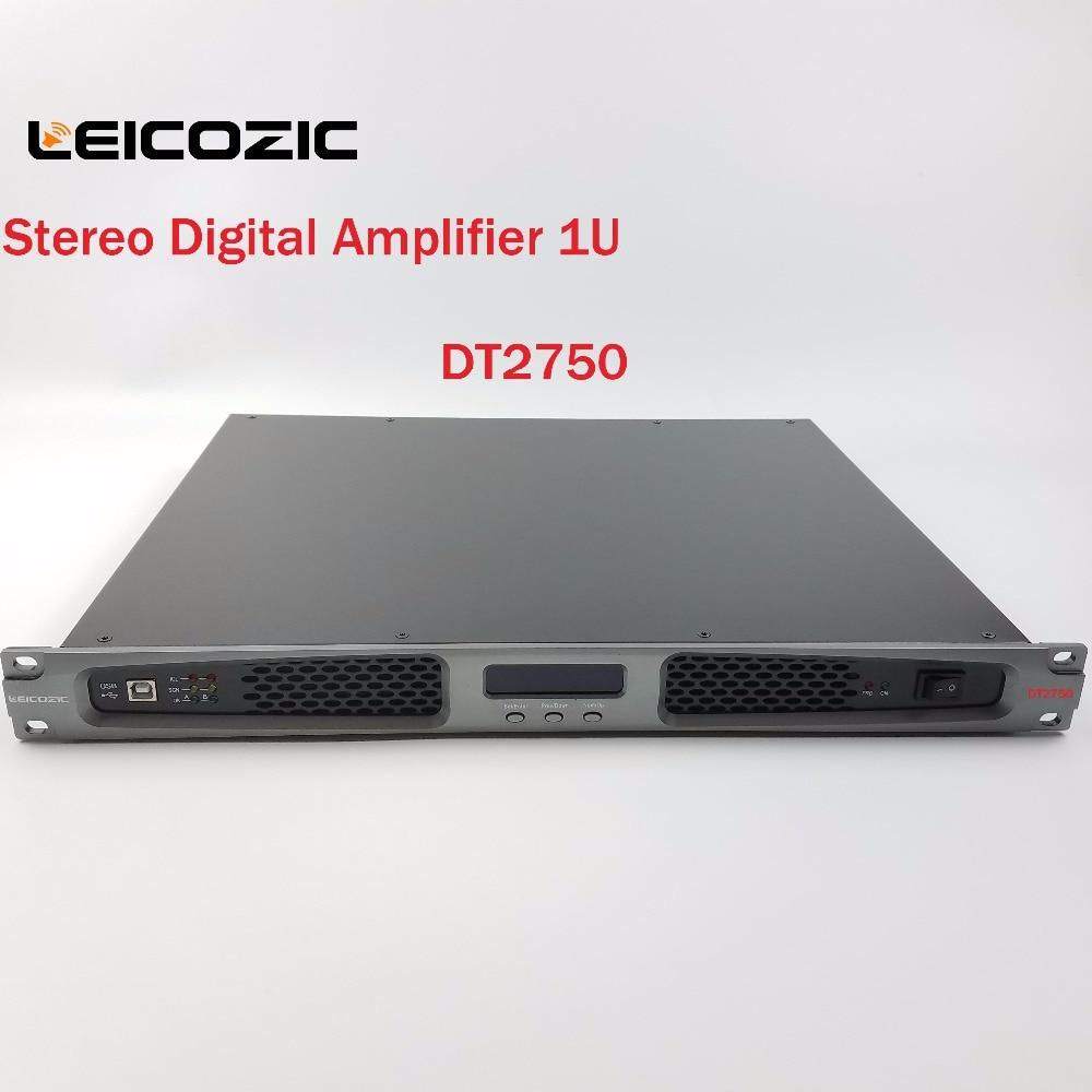 Leicozic 1200 Вт усилитель аудио Профессиональный усилитель мощности dj усилители 1U стойка усилитель стерео для сцены церковный концертный