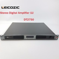 Leicozic 1200w amplificador audio professional power amplifier dj amplifiers 1U rack mount amp Stereo for stage church concert
