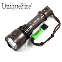 UniqueFire Hot Sale UF X5 U2 Led Flashlight Glass Lens 5 Modes Mini Police Torch Lamp Light Camping Hunting Flashlight