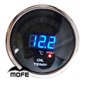 "MOFE Racing Special Offer Dia: 2"" 52mm 20 LCD Digital Oil Temp Gauge Meter Car Watch With Step Motor Original Logo Pack"