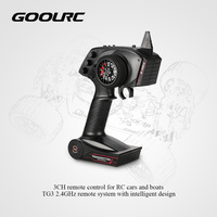 GoolRC Digital Radio Remote Control Transmitter with Receiver for RC Car Boat TG3 3CH 2.4GHz Original RC Parts & Accessories
