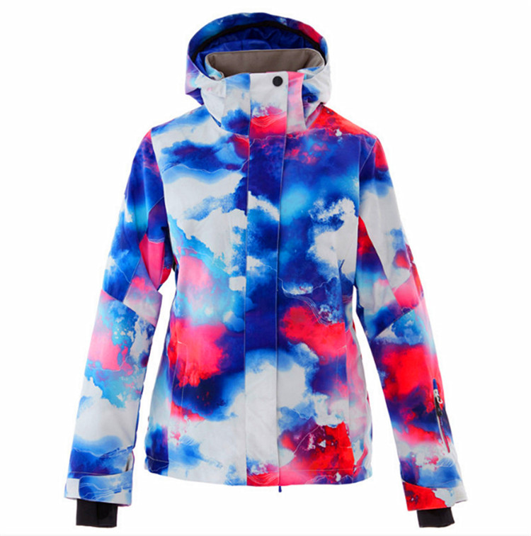 a7aac1b266 Winter Ski Jacket Women Windproof Waterproof Snowboarding Sets Climbing  Snow Skiing Female Design Large Size Camping Hiking Suit. 01.1 01.2 01.12  ...