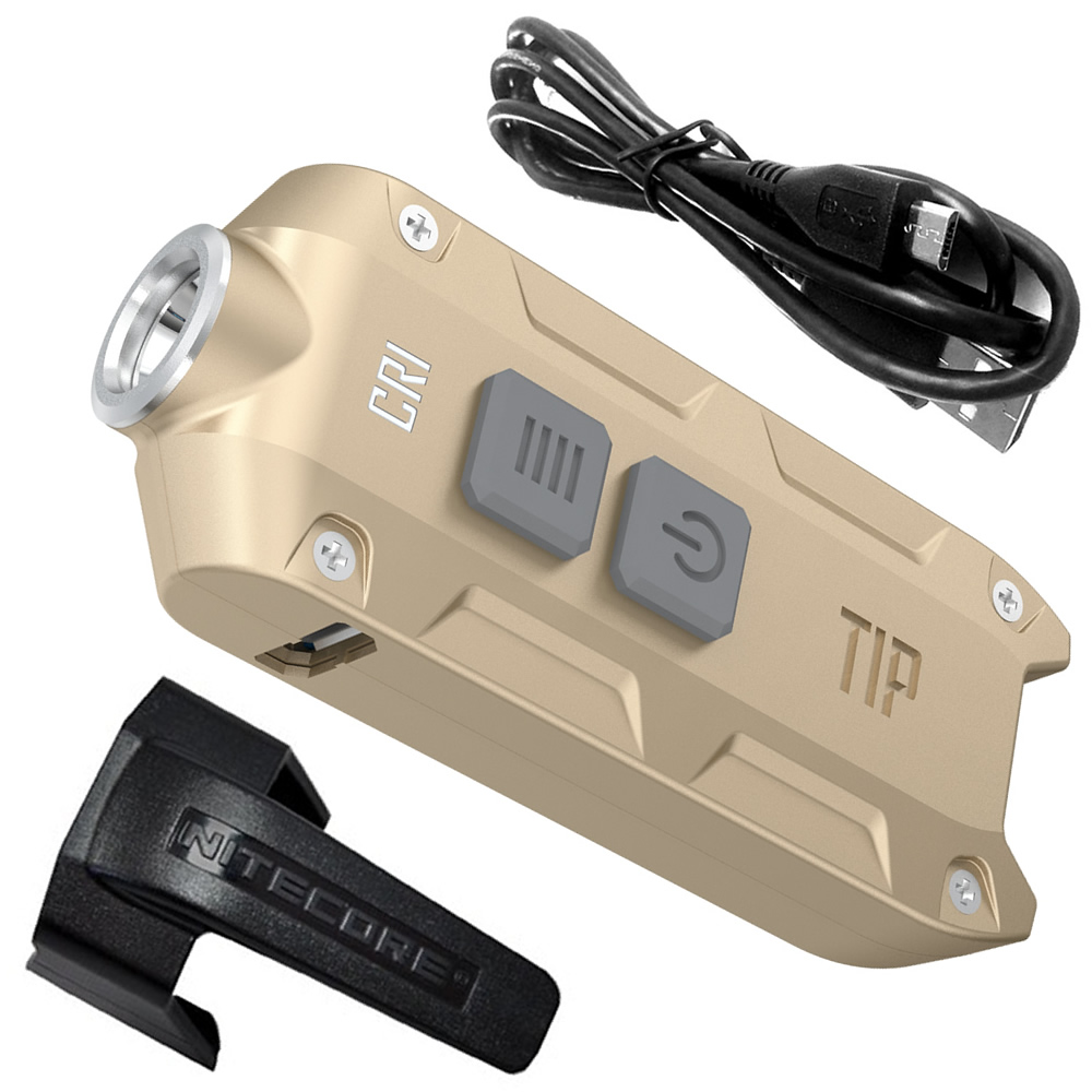 nitecore tipcu tipcri tipss metal key button light with multi purpose clip outdoor camping daily edc usb rechargeable flashlight NITECORE TIP TIPCRI TIPSS Metal Key Button Light+Multi-purpose Clip+USB Charge Cable Outdoor Daily Camping Hiking EDC Flashlight