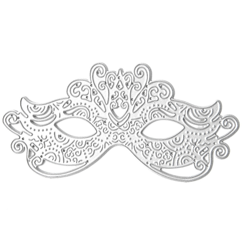 Party Masquerade Mask Metal Cutting Die,Stencil,Craft,Card Making,Scrap booking