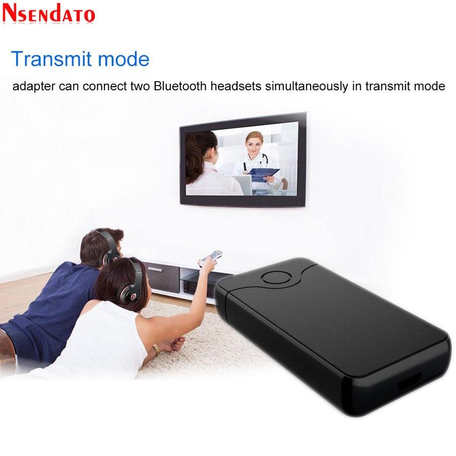2 en 1 3,5mm Jack Transmisor estéreo Bluetooth receptor adaptador Bluetooth 4,2 transmisión de Audio inalámbrica receptor Aux adaptador