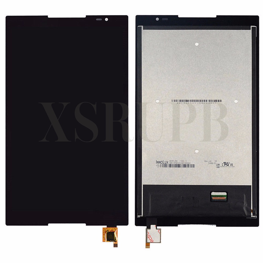Black touch screen digitizer lcd display assembly FOR Lenovo Tab S8-50 S8-50F S8-50L S8-50LC Free tools free shipping lcd display screen panel touch digitizer assembly for sony xperia z4 tablet sgp771 sgp712 screen assembly free shipping