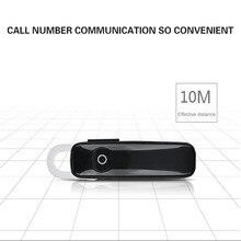 M165 Bluetooth 4.1 Headset Ultralight Wireless Earphone Hands-free Earloop Earbuds Sports Calls Music Earpieces for Smartphone