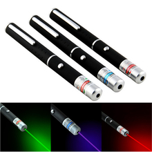 5 mW Laser Pointer High Power 650nm groen 532nm blauwviolet 405nm Laser Pointer Pen Verstelbare Brandende Match Zonder Batterij
