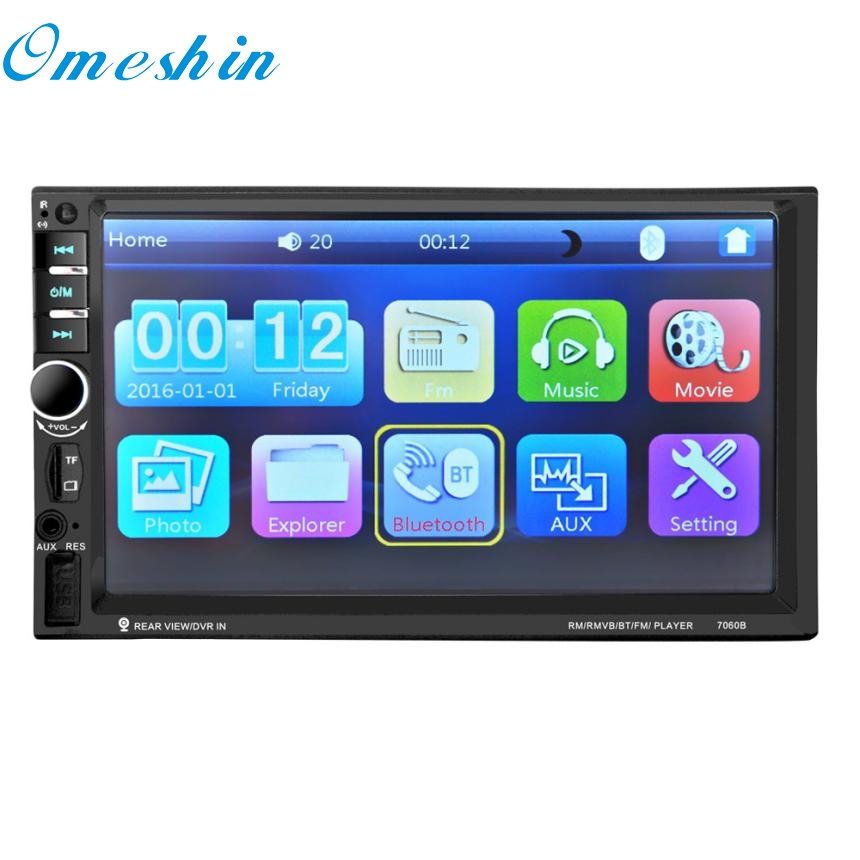 New Arrival 7'' HD Bluetooth Touch Screen Car Stereo Radio