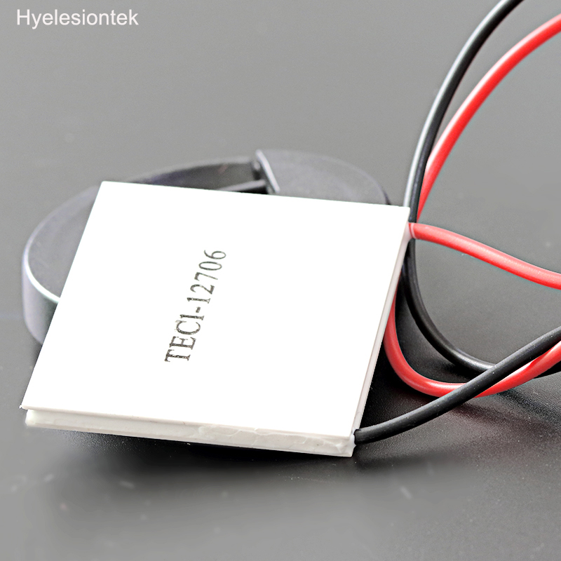 12V 60W TEC1-12706 High Low Temperature Power Generation Heatsink Thermoelectric Cooler Peltier Cooling Plate Panel Module 2pcs 40 40mm thermoelectric power generator high temperature generation element peltier module teg high temperature 150 degree