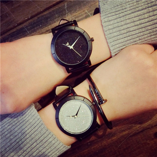 Creative Colourful Luminous Watches Men and Women Fashion Watches 2017 New Arriv
