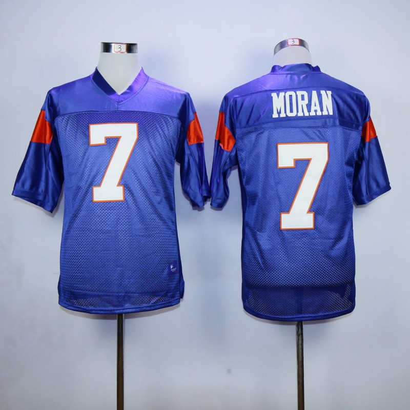 Alex Moran 7 Blue Mountain State Football Movie Blue Jersey Mens Adult New