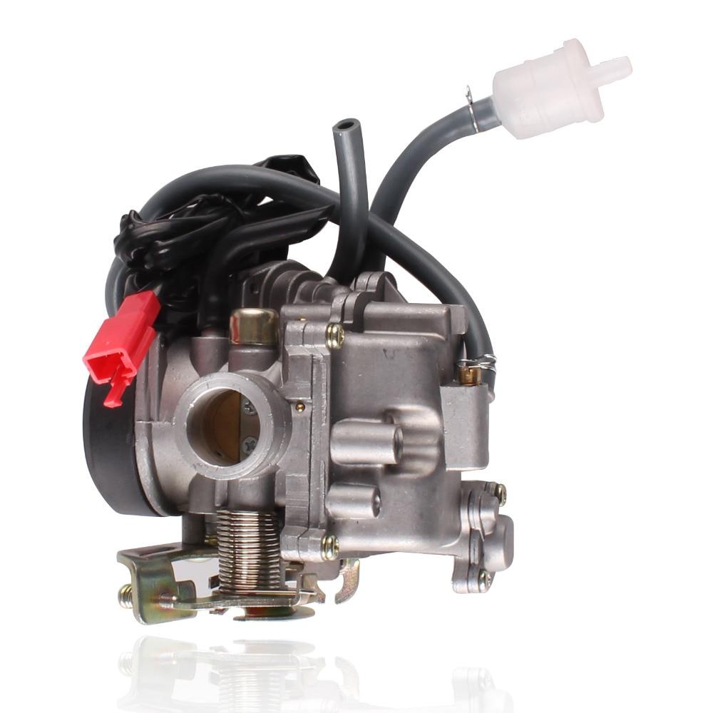 Carburateur Carb 19 cm pour 4 temps GY 50cc 60cc 80c Scooters moteur 139QMB cyclomoteur SUNL ROKETA JCL BAJA réservoir NST VIVA ATM REDCAT