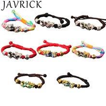 Fashion Men Women Bracelets Simple Braided Bracelet Temperature Sensitive 3D Style Bracelet Jewelry New