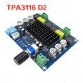 Amplificadores De Áudio Digital Board 120 W x 2 TPA3116D2 Duplo Canal de Atualização de Linha de Placa De Amplificador de Potência Digital
