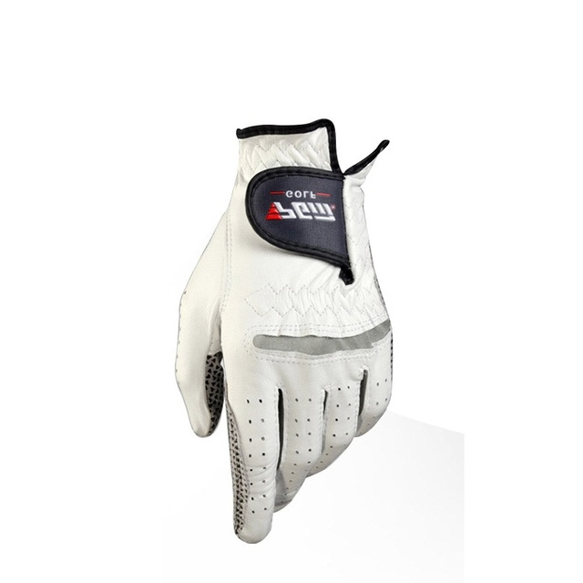 Golf Gloves Men's Golf Left and Right Hand Breathable Golf Goloves With Anti-slip Granules