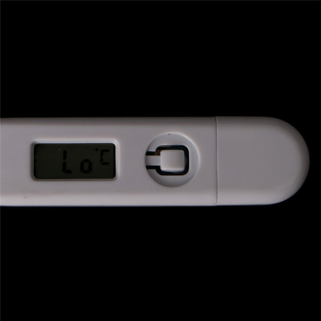 NEW 1xBaby Child Medical Digital LCD Adult Underarm Oral Body Fever Alarm Thermometer 2