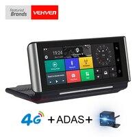 VEHVEN 4G ADAS Car DVR Camera GPS 6 86 Android 5 1 Dashcam Registrar 1080P Full