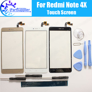 Image 1 - For Xiaomi Redmi Note 4X Touch Screen 100% New Digitizer Glass Panel Touch Replacement For Xiaomi Redmi Note 4X