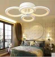 Direto da fábrica led 30 w acrílico contratada personalidade criativa anular sala de estar quarto estudo absorver cúpula luz 211-240 v