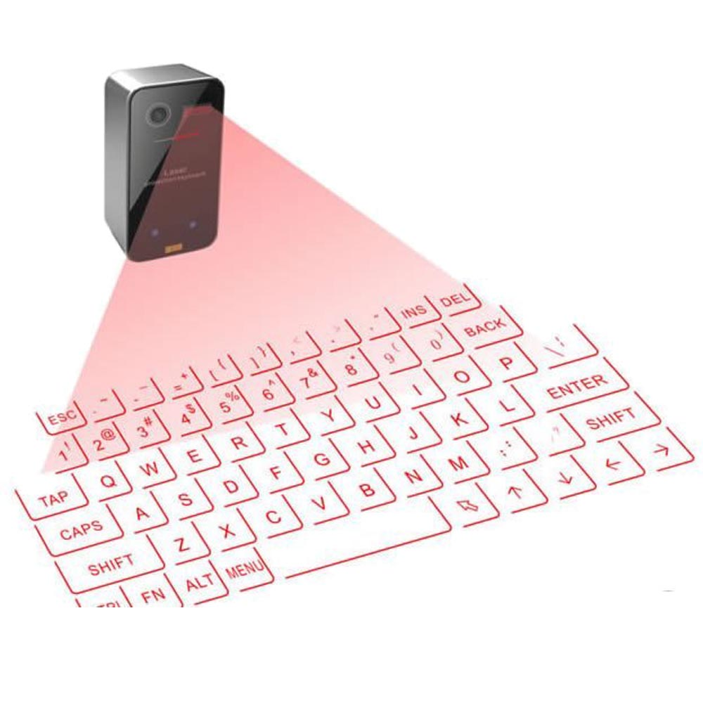 Virtual Laser Projection Wireless Bluetooth Keyboard Mini ...