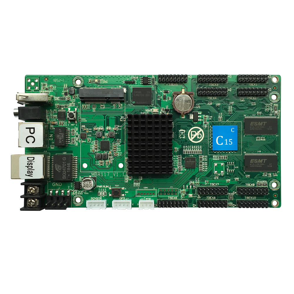 LED display control card,Huidu HD-C15C Asynch Control card,FullColor LED ControllerLED display control card,Huidu HD-C15C Asynch Control card,FullColor LED Controller