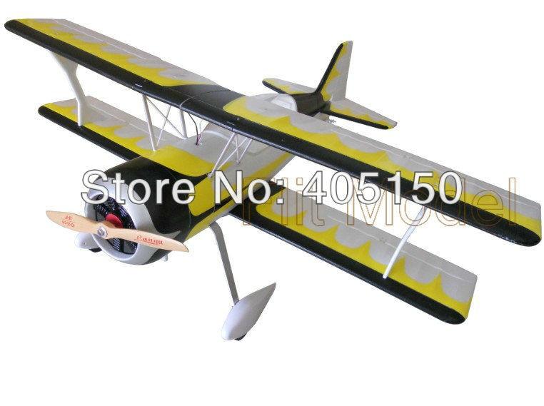 6 s Version EPO Pitts 1400mm mousse électrique RC Bi avion PNP