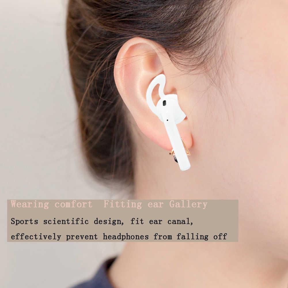 Miękkie silikonowe słuchawki douszne przypadku dla i200 i300 i90 i80 i60 tws bezprzewodowy zestaw słuchawkowy Bluetooth słuchawki akcesoria słuchawki zaczep na ucho słuchawki douszne pokrywa