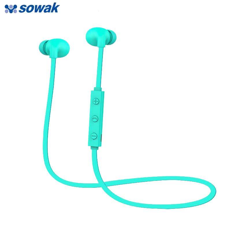 все цены на Mini Wireless Bluetooth Earphone head phones Sport Headphones Soundproof Active Noise Cancelling Earphones With Microphone онлайн