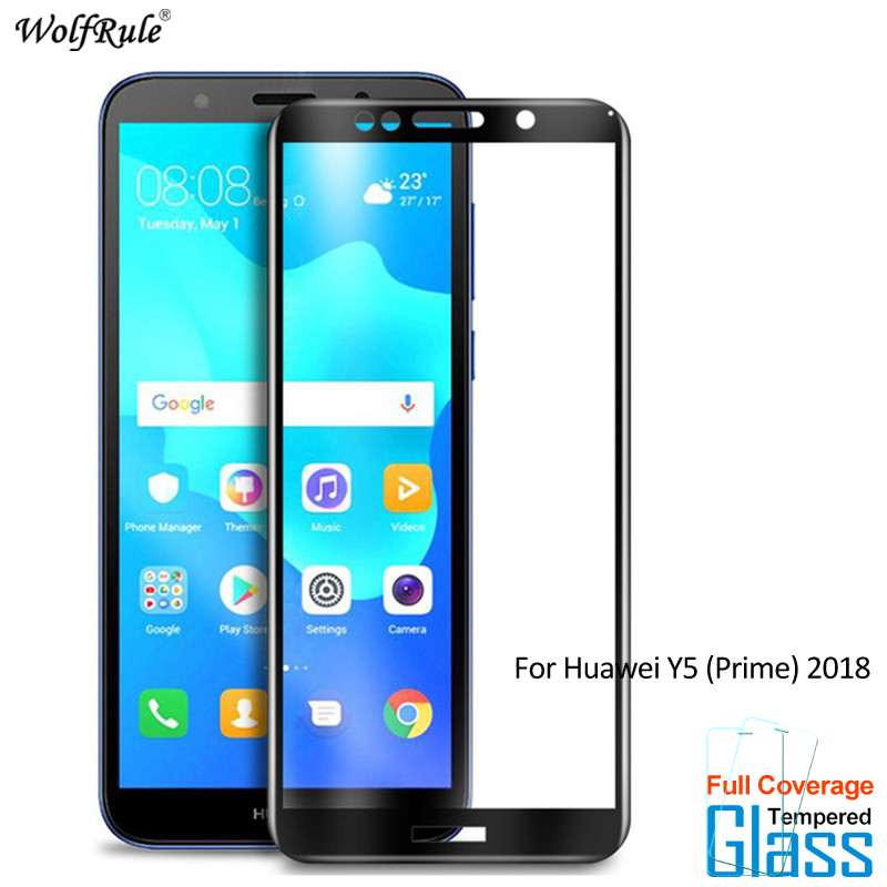 US $1 92 38% OFF|2PCS For Glass Huawei Y5 Prime 2018 Screen Protector  Tempered Glass For Huawei Y5 2018 Glass Full Phone Film For Huawei Honor  7S-in