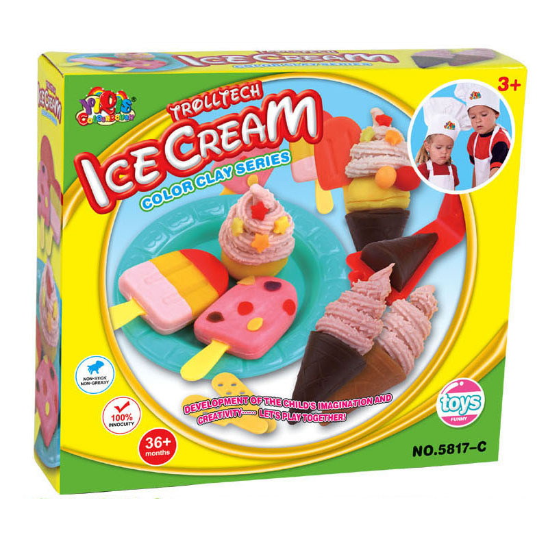 Peachy Safety Plasticine Playdough Birthday Cake Sets With Moulds Color Personalised Birthday Cards Veneteletsinfo