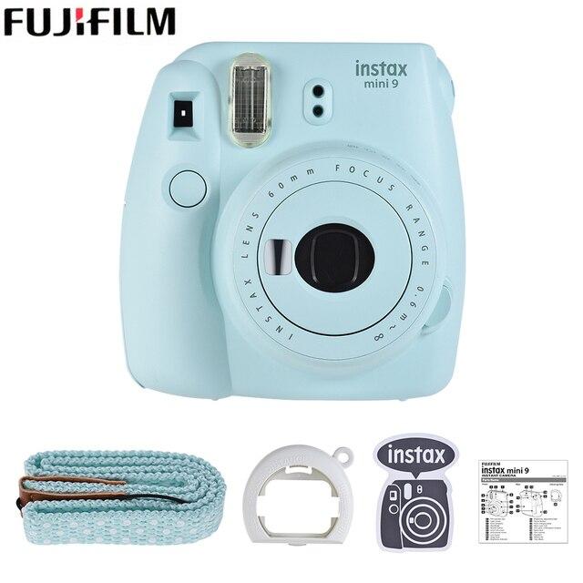 63508041ce Nuevo 5 colores Fujifilm Instax Mini 9 cámara instantánea Cámara película  Cam con verde/blanco