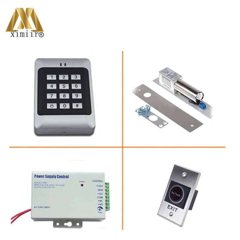 RFID Reader Deur Access Control Met Toetsenbord Enkele Deur Toegangscontrole Systeem Met Elektromagnetische Slot Voeding Standalone - 3