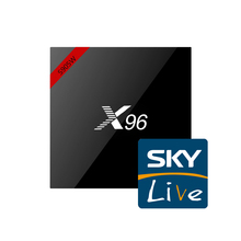 X96 with Skylive IPTV 1 months subscription UK Italy Germany