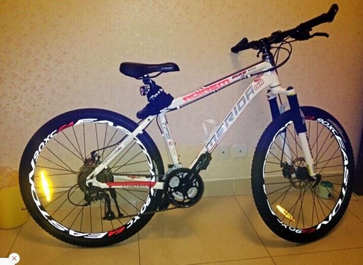 Wheels Manufacturing INC bike sticker decal MTB race bicycle ride