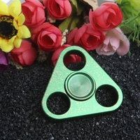 2017 Multi Color Triangle Gyro Finger Spinner Moving EDC Hand For Autism ADHD Anxiety Stress Relief