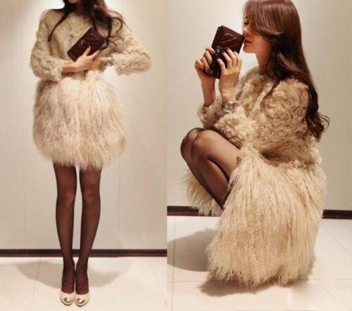 Горячие Новые Зимние Женщин Теплый Искусственного Меха Длинный Жилет Пальто Куртки Жилет Свободный Размер