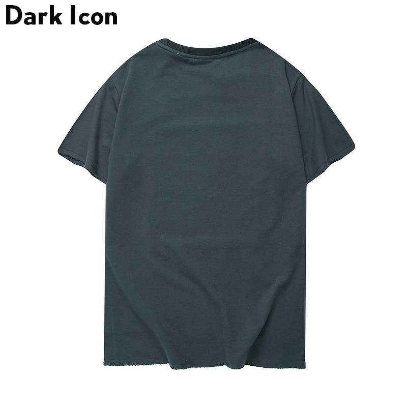 Këmishë me mëngë të shkurtra të rrumbullakëta Crewneck - Veshje për meshkuj - Foto 4