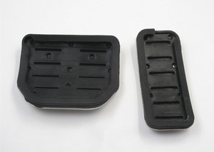 Image 5 - Car Accelerator Gas Foot rest Modified Pedal Pad for Land Range Rover Sport Discovery 3 4 LR3 LR4 Refit Decorate Accessory