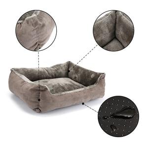 Image 4 - Animal de compagnie chien lit canapé grand chien lit pour petit moyen grand chien tapis banc chaise longue chat Chihuahua chiot lit chenil chat animal domestique fournitures