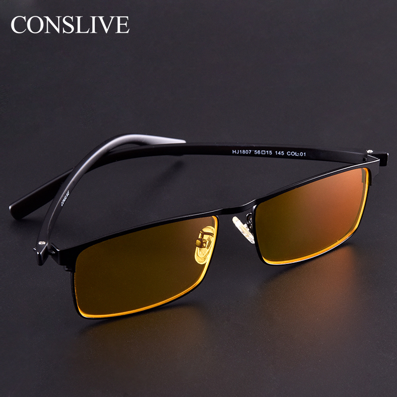 Night Vision Driving Glasses For Men Women With Diopters Polarized Night Glasses Anti-Glare Yellow Glasses (Frame + Lenses)
