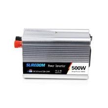 500w Solar Inverter Multifunctional Travel Power Supply Control Dual USB Car inverter 12V 24V 110V 220V High Power Conversion