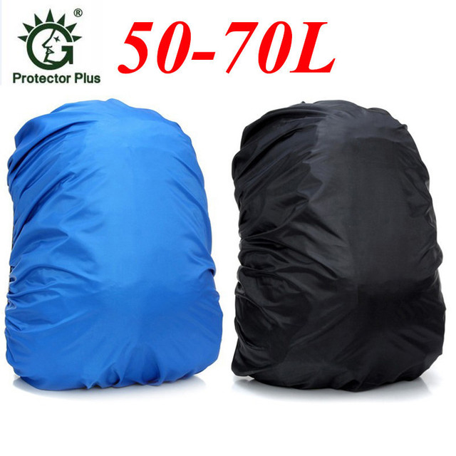 8e908a592d6 New Wholesale Price Outdoor Sports Bag Rain Cover 55L-70L Mountaineering Bag  Black Waterproof Cover Free Shipping D036
