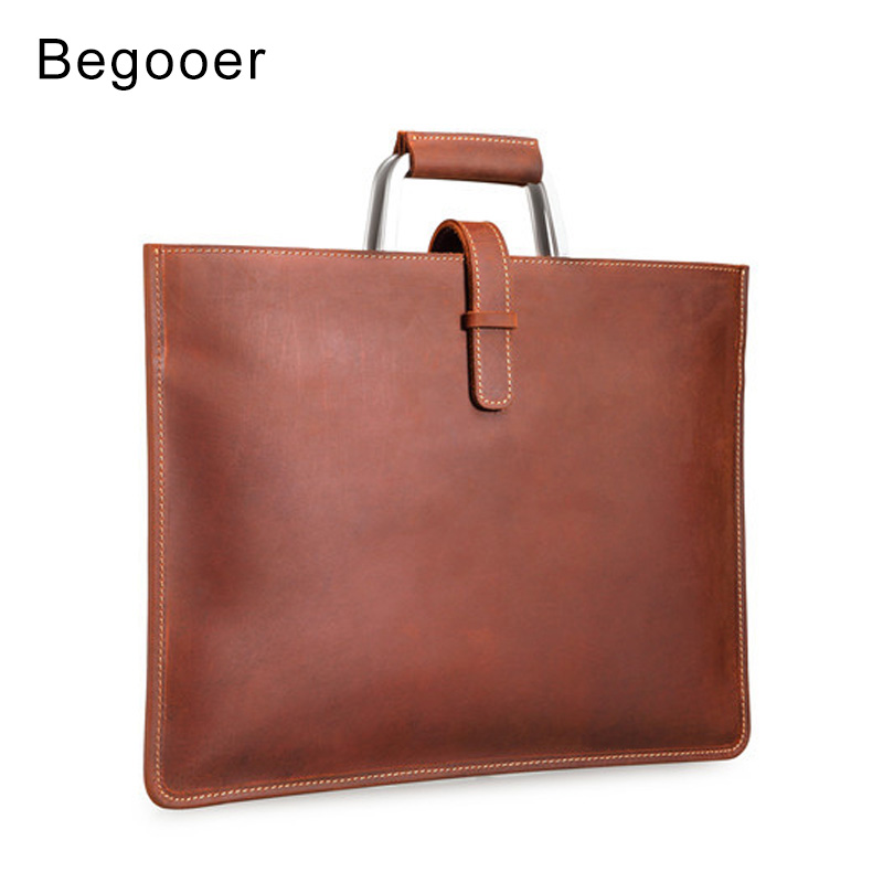 Crazy Horse Leather Men Bag Mens Genuine Leather Briefcase Male Bags Totes Messenger Bags Business Laptop Bag Men BriefcasesCrazy Horse Leather Men Bag Mens Genuine Leather Briefcase Male Bags Totes Messenger Bags Business Laptop Bag Men Briefcases