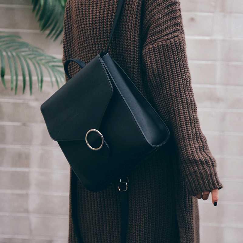 Модные женские рюкзак 2018 искусственная кожа ретро Женская сумка школьные сумки для девочек-подростков Высокое качество дорожные книги рюкзак сумки на плечо